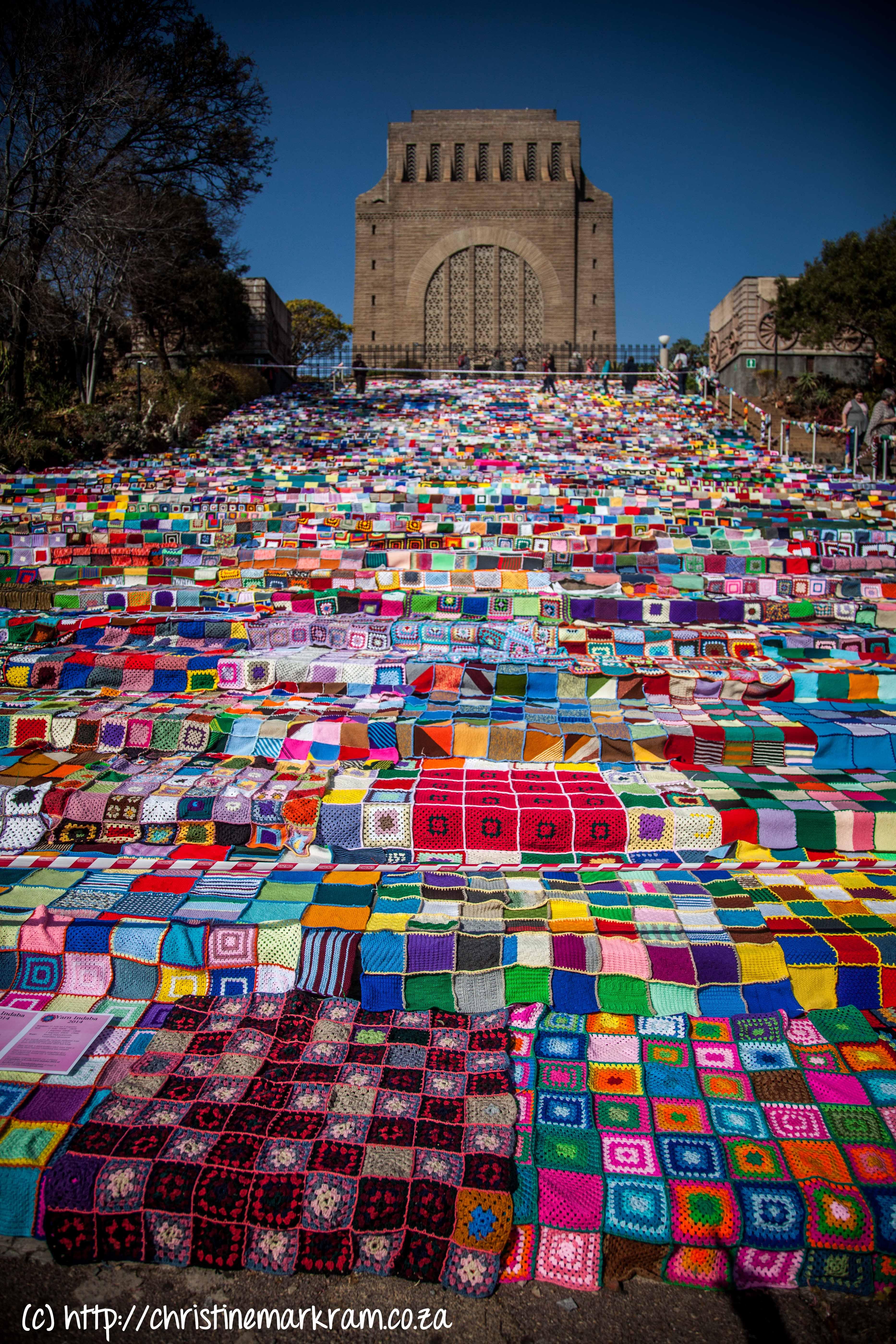Yarn Indaba 2014 | Voortrekker Monument